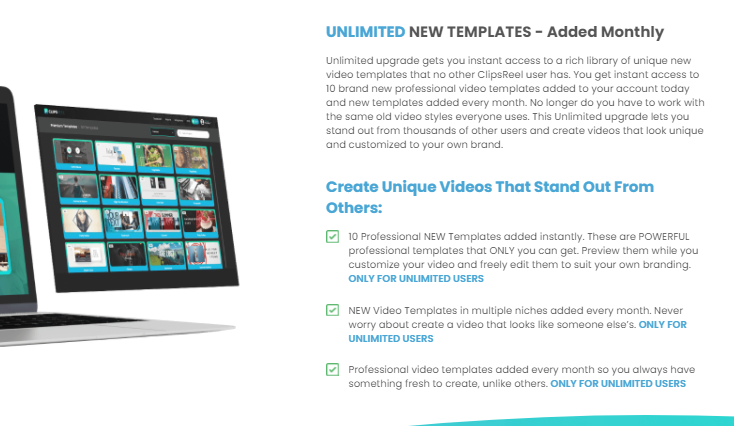 ClipsReel Unlimited Version OTO & UPSELL by Abhy Dwivedi