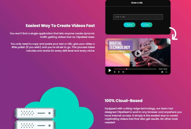 ClipsReel Video Creator & OTO Review by Abhi Dwivedi