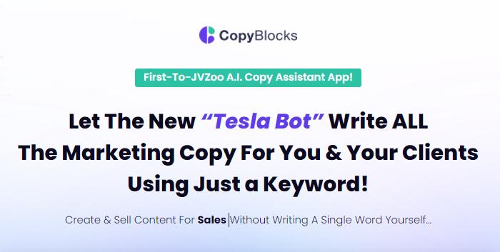 CopyBlocks App OTO 1, OTO 2, OTO3, OTO4, and OTO5. All CopyBlocks App OTOs Links Here