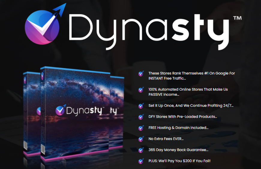 Dynasty Store Builder Software & OTO Review by Venkata Ramana