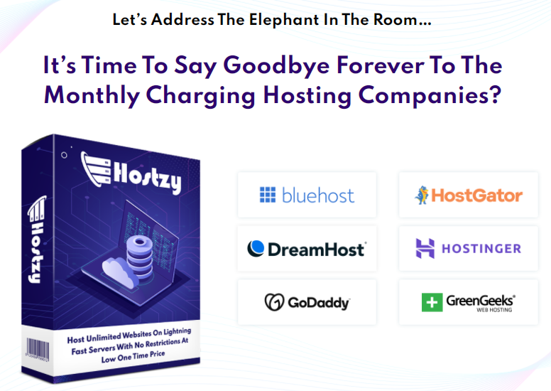 Hostzy Unlimited Hosting & OTO Review by DiziSavvy