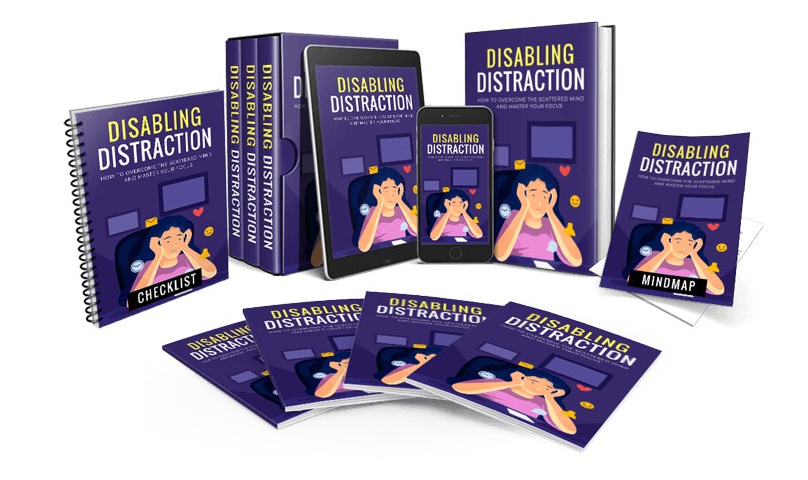 PLR Disabling Distraction Review & OTO by Yu Shaun