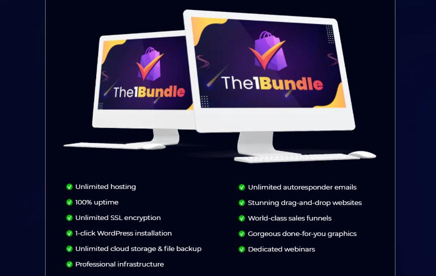 The1Bundle Software Platform & OTO Review by Mosh Bari