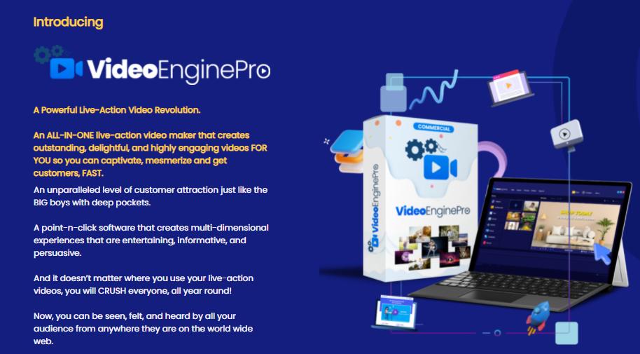 VideoEnginePro App Software Review & OTO UPSELL by Brett Ingram