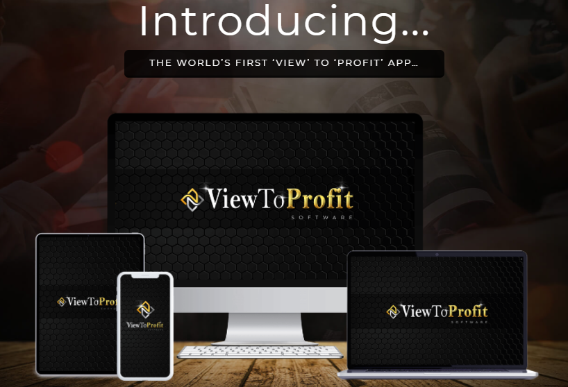 ViewToProfit App Software & OTO Review by Billy Darr