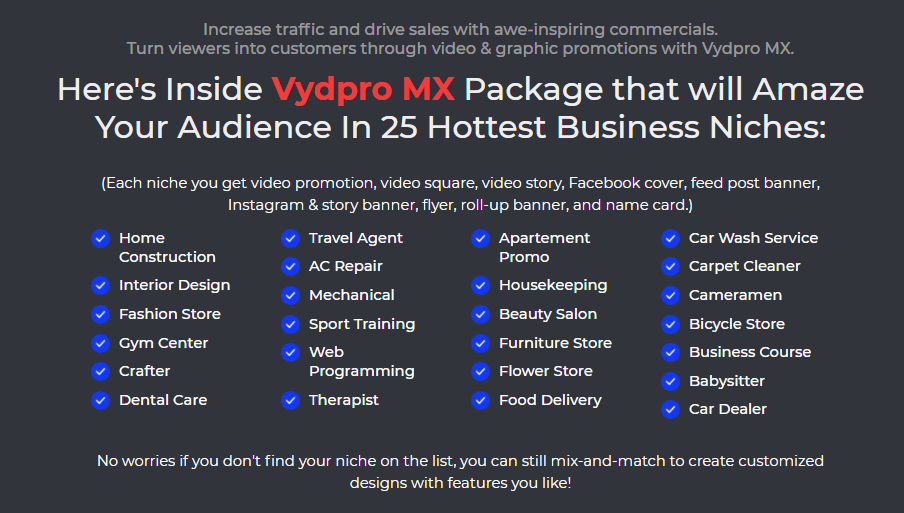 Vydpro MX Templates Pack Review & OTO by Sam Arief