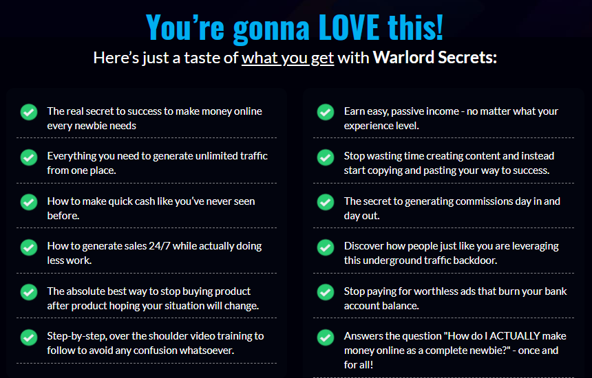 Warlord Secrets Traning & OTO Review by Philip Johansen
