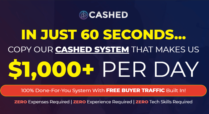 CASHED App OTO & Review by Glynn Kosky