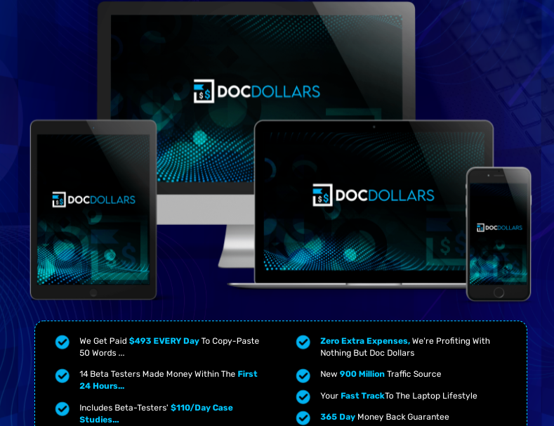 DocDollars PRO Software OTO & Review by Rich William