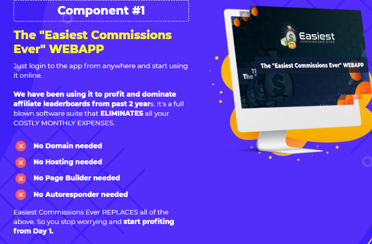 Easiest Commissions Ever PRO OTO & Review by Yogesh Agarwal