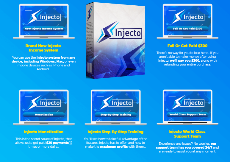 Injecto PRO Software OTO & Review by Jason Fulton