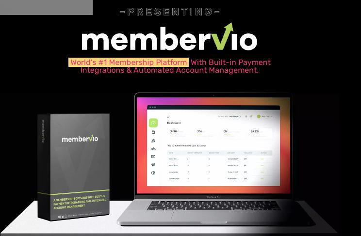 Membervio PRO App OTO & Review by Neil Napier