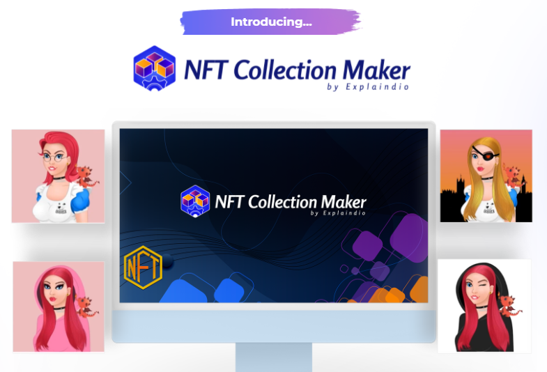 NFT Collection Maker PRO OTO & Review by Andrew Darius