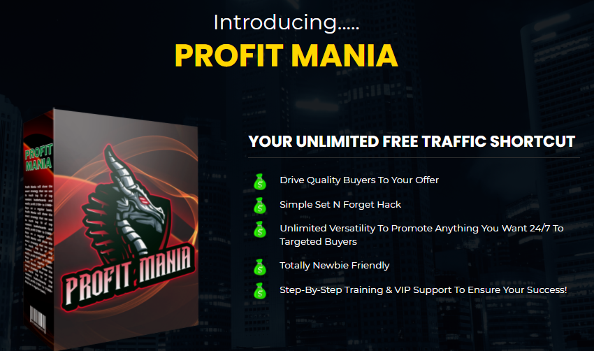 Profit Mania PRO Course OTO & Review by Bill Ang
