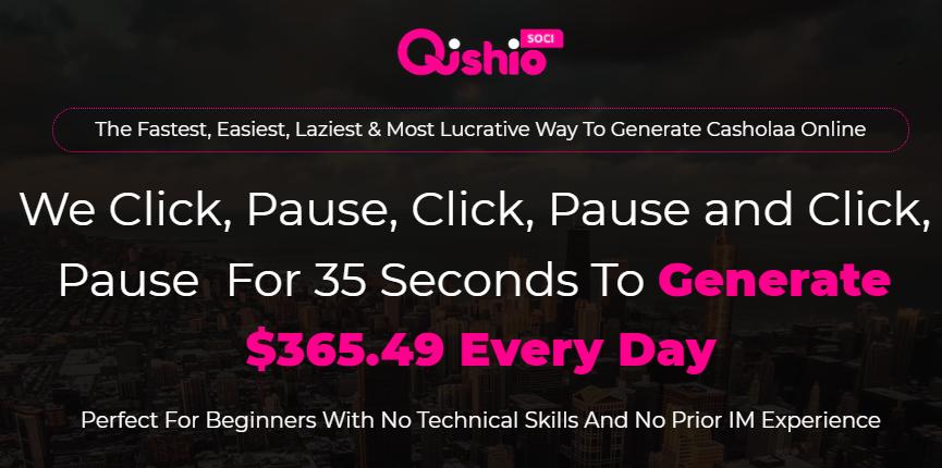 QishioSoci App OTO & Review by Kenny Tan