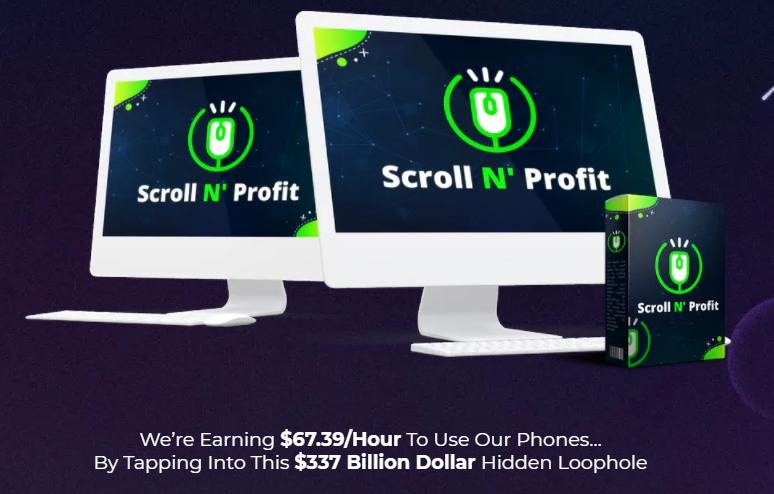 Scroll N' Profit PRO OTO & Review by Mosh Bari