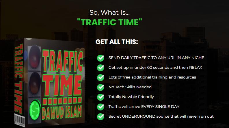 Traffic Time Training OTO & Review By DawudIslam